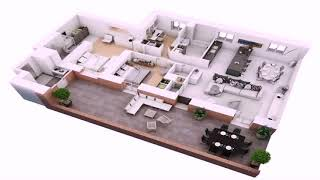 2 Bedroom House Plans With Large Kitchen