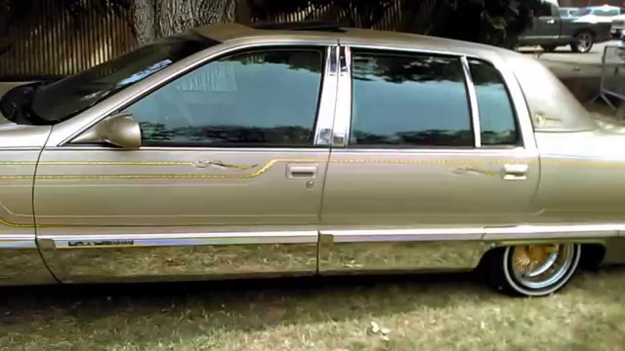cadillac fleetwood lowrider woodland ca car show youtube. Black Bedroom Furniture Sets. Home Design Ideas