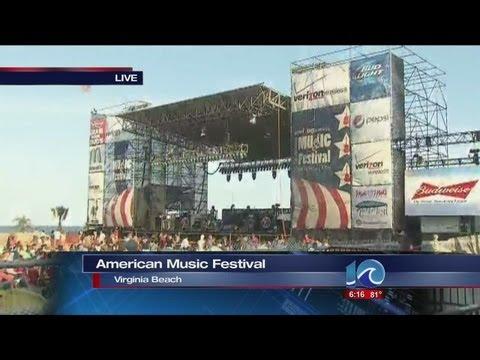 Anita Blanton reports from Virginia Beach American Music Festival