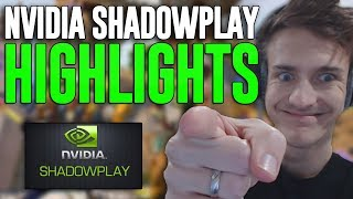 18 Kill Fortnite Gameplay - Nvidia ShadowPlay Highlights! Best Clips Contest!