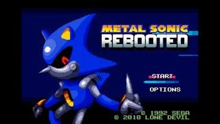 Metal Sonic Rebooted & Knuckles (Genesis) - Longplay
