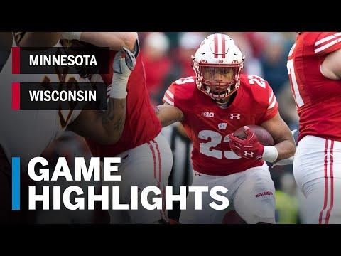 Wisconsin Badgers - Video Highlights: Minnesota 37, Wisconsin 15