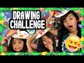 Christmas Drawing Challenge : CHALLENGES // GEM Sisters