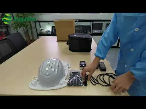 Brain diseases treatment device near infrared helmet brain pbm machine