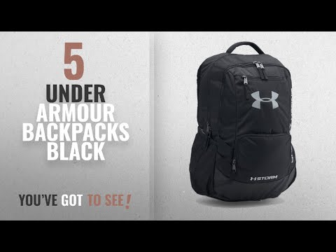 under-armour-backpacks-black-[2018-best-sellers]:-under-armour-storm-hustle-ii-backpack,