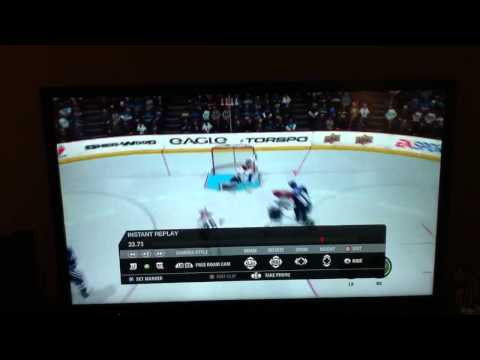 NHL 11 One Timer Shot