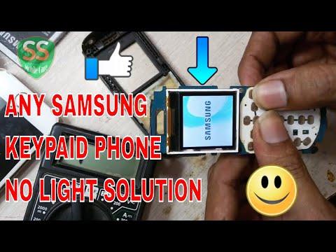 How To Samsung E1200,E1207,E1080,1280 Light Ic Solution 100% Tested