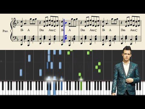 Panic! At The Disco: Crazy=Genius - Piano Tutorial + Sheets