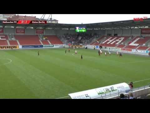 Testspiel: Hallescher FC - 1. FC Union Berlin