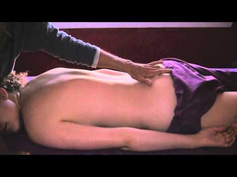 sensual back rub