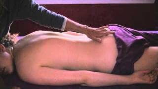 Cranial Sacral Massage Therapy Technique, Full Body & Back Rub Demonstration 8
