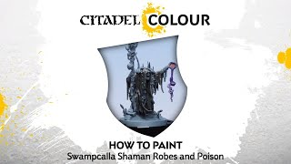 How to Paint Kruleboyz: Swampcalla Shaman Robes and Poison