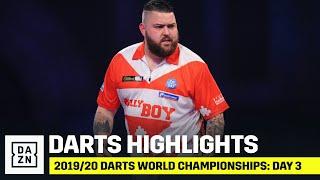 HIGHLIGHTS | 2019/20 Darts World Championships: Day 3