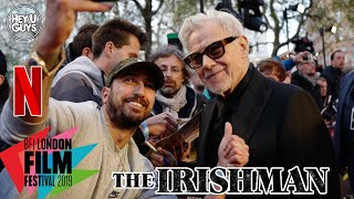 Harvey Keitel on working with Scorsese once more on The Irishman - LFF Premiere
