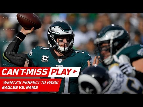 Carson Wentz Drops TD Dime vs. LA! |  Can't-Miss Play | NFL Wk 14 Highlights