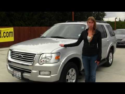 Virtual Walk Around Video of a 2009 Ford Explorer XLT 4WD at Marysville Ford p8129a
