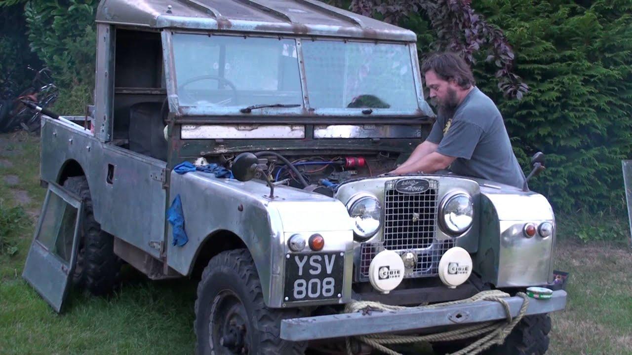 Starting up Series 1 Land Rover V6 3 litre after Head Gasket
