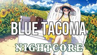 (NIGHTCORE) Blue Tacoma - Russell Dickerson Video