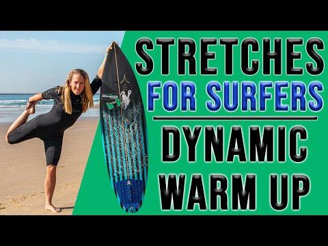 Fünf gute Dehnübungen für Surfer