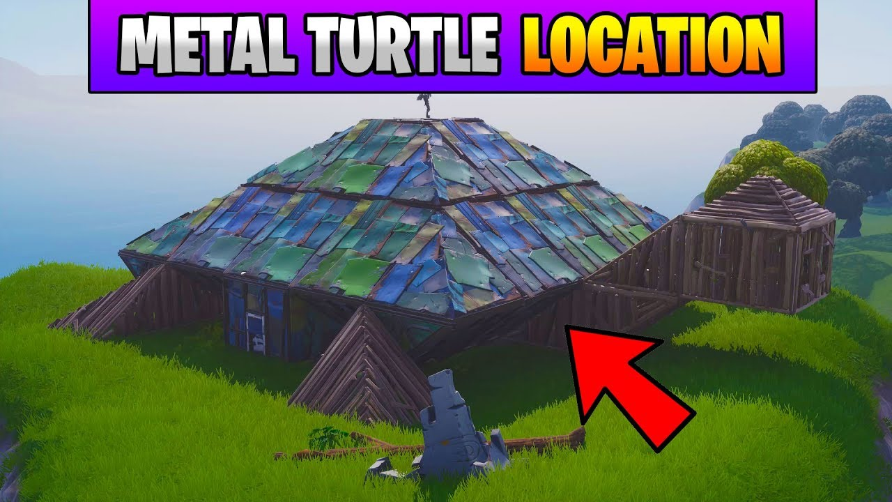 Fortnite Dance On Top Of A Metal Turtle Location Stage 2 Fortnite