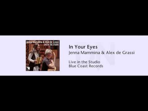 Jenna Mammina & Alex de Grassi - In Your Eyes - Live in the Studio - 08