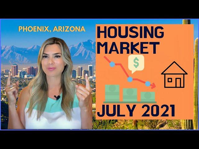 PHOENIX Housing Update July 2021 - MARKET CRASH in 2021-22?