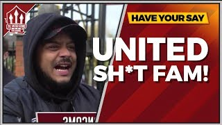 Troopz | UNITED Are Sh*t FAM! Manchester United 2-1 Arsenal