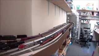 Back Shop & Hidden Staging on the SJ&W Model Railroad