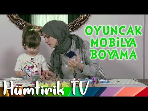 Hümtirik Tv - Oyuncak Mobilya Boyama 🎨😍