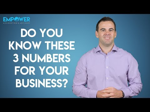 The 3 Numbers You Must Know In Your Business // Bookkeeping Tips for Business