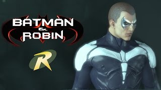SKIN; Batman; Arkham City; Joel Schumacher Nightwing