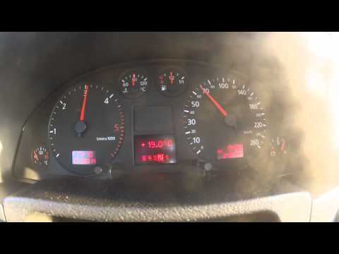 Audi A6 2.5 tdi Quattro V6 Tiptronic 40-100km/h Acceleration,Beschleunigung