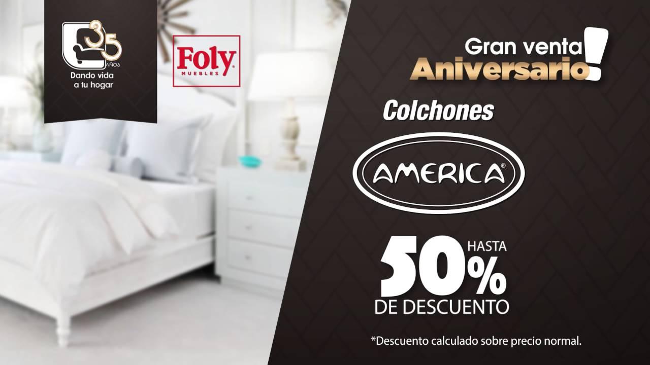 Venta de 35 Aniversario foly muebles - colchones - YouTube