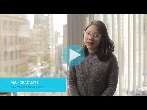UBC Master Of Data Science Vancouver Alumna - Ha