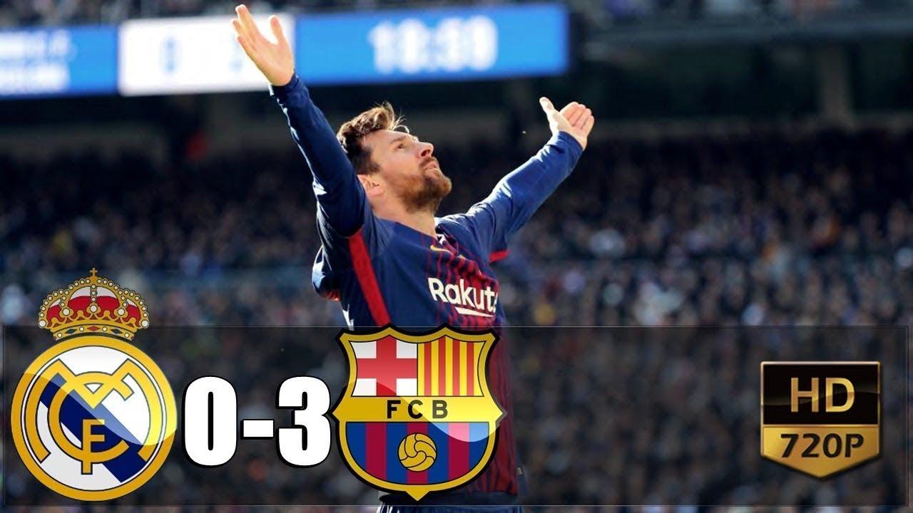 Real Madrid vs Barcelona, Copa del Rey Semi-Final 2019, El ...  |Real Madrid
