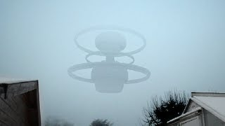 GIGANTIC UFO in Moscow, Russia January 15th 2013
