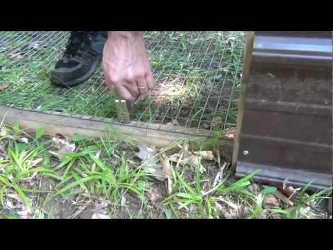 DIY Outdoor Rabbit Pen