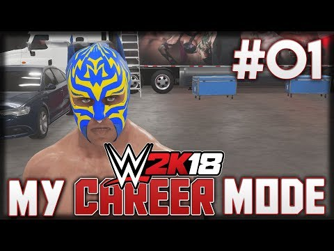 WWE2K18 MyCareer Mode - WE'RE STARTING AT THE BOTTOM - Episode 1