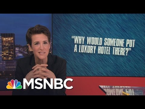 Sketchy Donald Trump Deal Eyed For Ties To Iran | Rachel Maddow | MSNBC