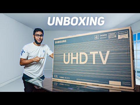 SAMSUNG RU7470 4k UHD TV: UNBOXING IN BANGLA!