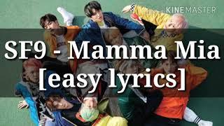 SF9 - Mamma Mia [easy lyrics]