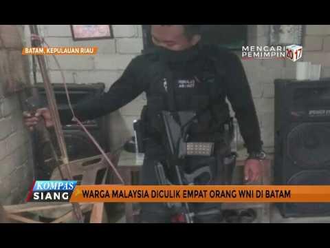Warga Malaysia Diculik 4 Orang WNI di Batam