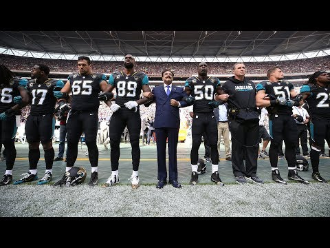 Jaguars' Owner Locks Arms with ravens vs jaguars