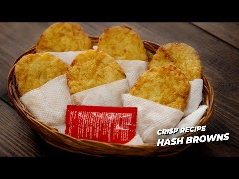 Hash Browns Recipe - Crispy Restaurant Like - CookingShooking