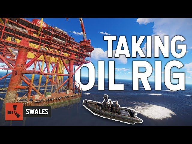 TAKING ON THE OIL RIG - RUST