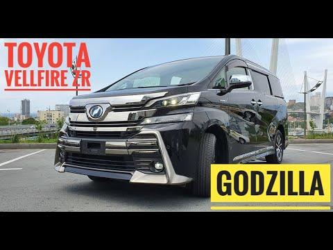 Обзор Toyota Vellfire ZR Hybrid AYH30. он же GODZILLA