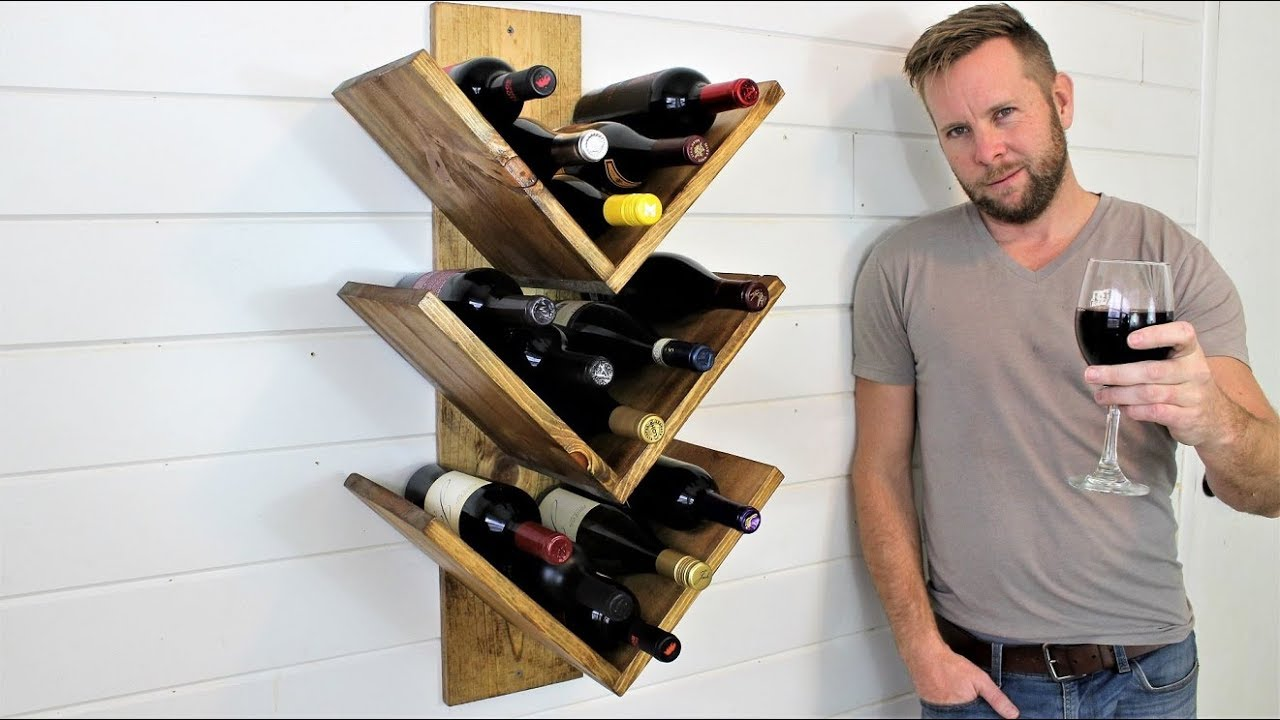 the 15 wine rack easy diy project