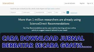 Gambar cover Cara Download jurnal internasional berbayar secara gratis