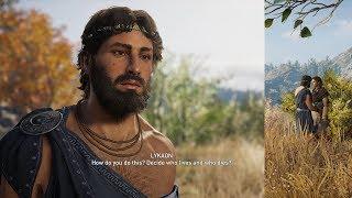 Assassin's Creed Odyssey Lykaon Romance (Kassandra)