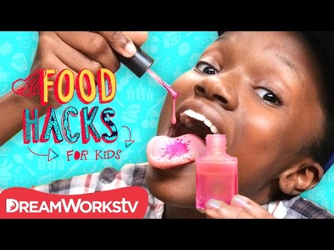 Nail Polish Food Prank & MORE April Fool's Day Hacks | FOOD HACKS FOR KIDS